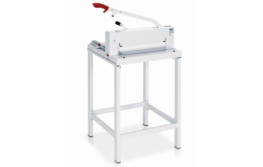 Ideal 4300 Guillotine with optional table