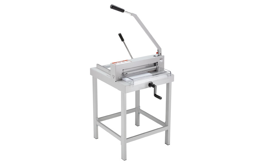 Ideal 4305 Guillotine with optional table
