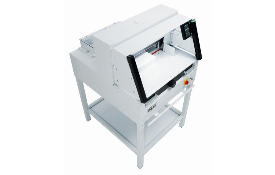 Ideal 4860 Guillotine Side View
