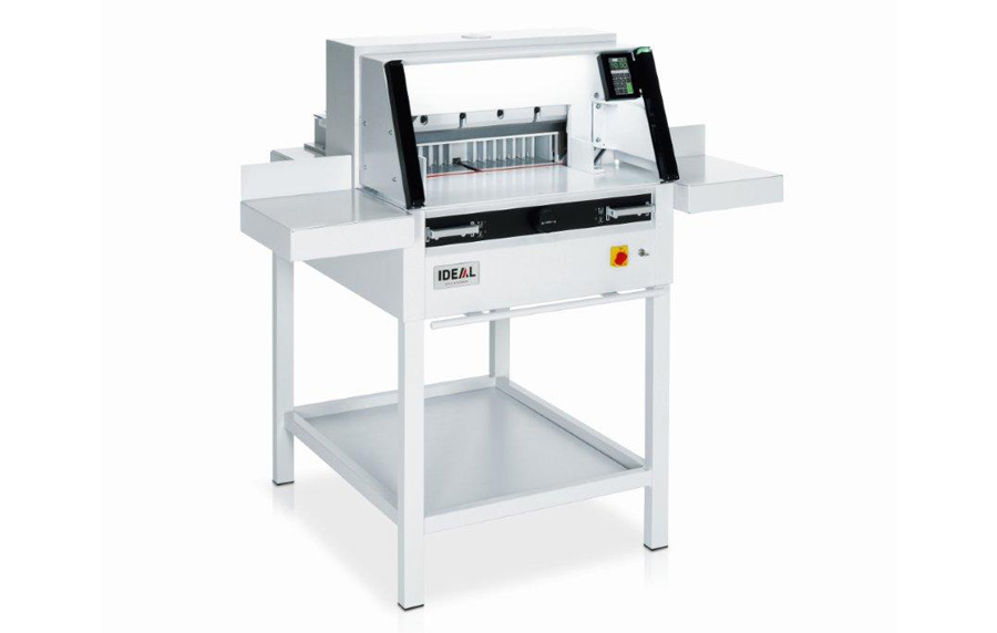 Ideal 4860 Guillotine with optional sidetables