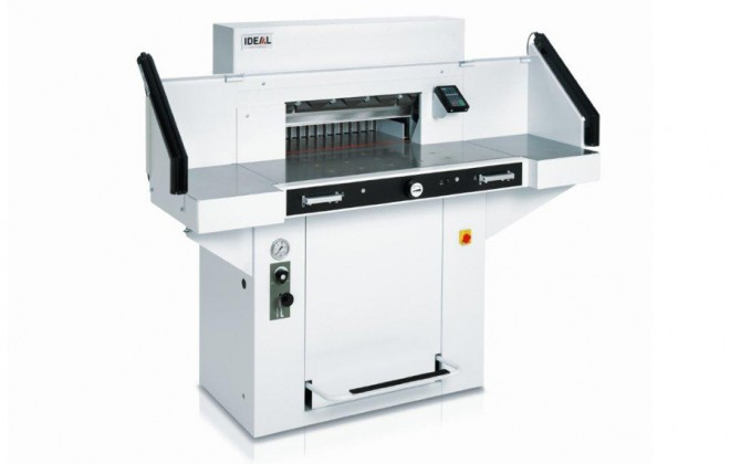 Ideal 5560 Guillotine with optional sidetable