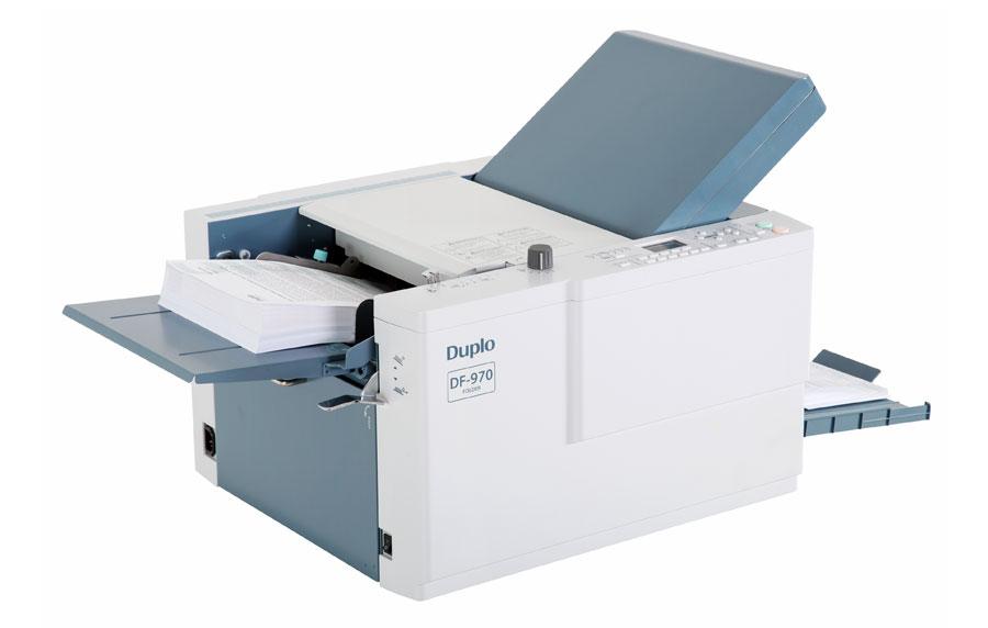 Duplo DF970 Friction Feed Folding Machine