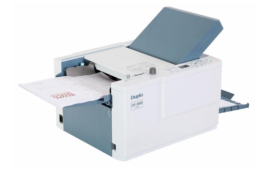 Duplo DF980 Friction Feed Folding Machine