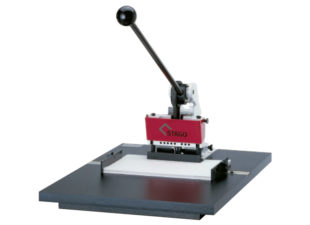 Stago HS50 Round Cornering and Punching Machine