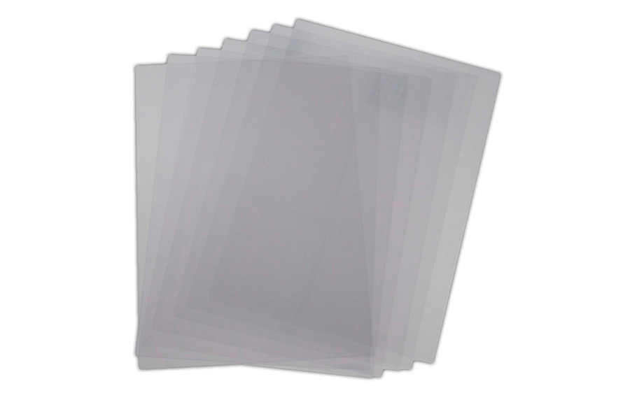 A4 Clear Covers (Heat Resistant)