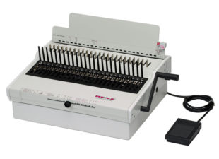 Powered Plastic Comb Binding Machines