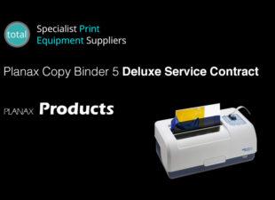 Planax Copy Binder 5 Deluxe Service Contract