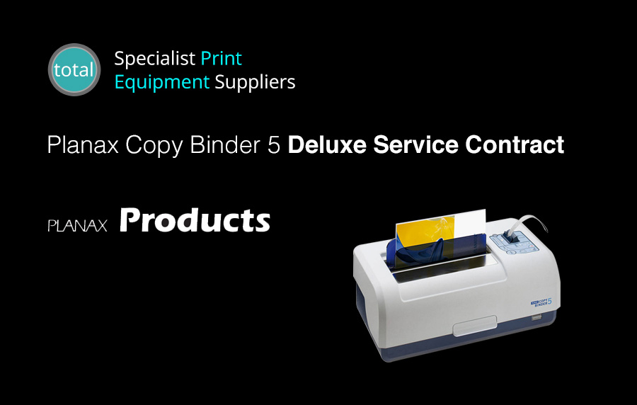 Planax Copy Binder 5 Deluxe Service Contract