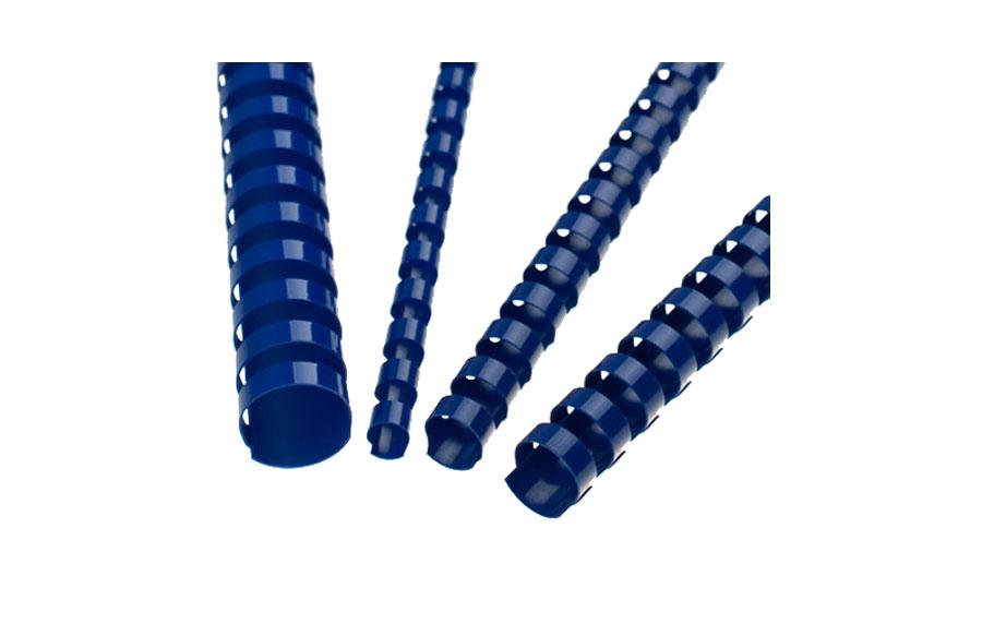 Blue A4 Plastic Binding Comb