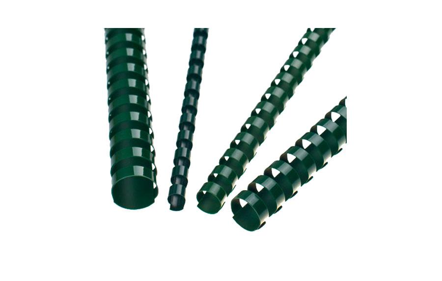Green A4 Plastic Binding Comb