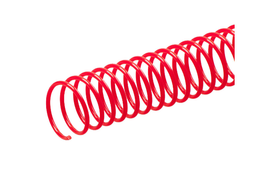 Red Renz A4 PVC Coil