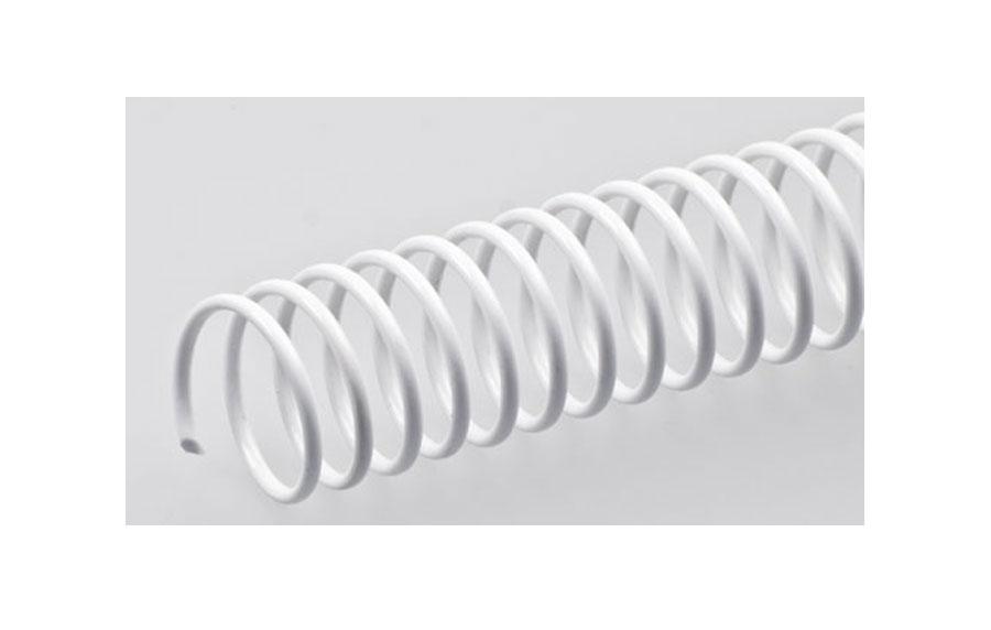 White Renz A4 PVC Coil