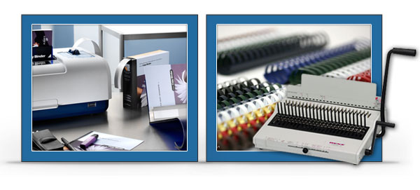 Print Finishing, Laminating and Binding Supplies