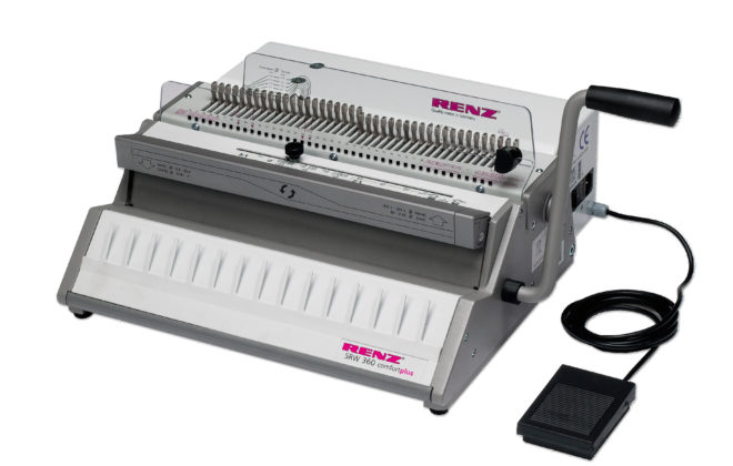 Renz SRW 360 Comfortplus Wire Binder from Total PS