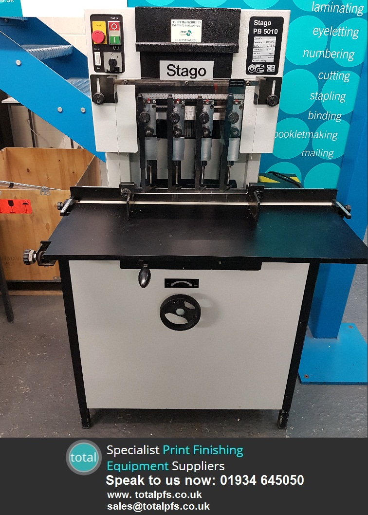 refurbished stago pb5010 paper drill from Total pfs